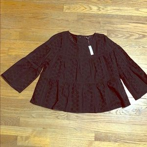 Madewell Eyelet Torres Button Back Too